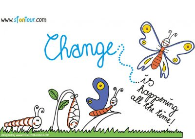 SF Inspiration #1: Change is happening all the time!
