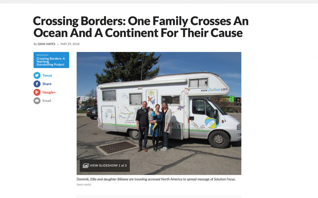 Crossing Borders: Our story featured on Utah Public Radio
